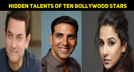 Hidden Talents Of Ten Bollywood Stars