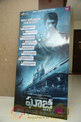 Ghazi  Exclusively Success Press Meet  Telugu Gallery