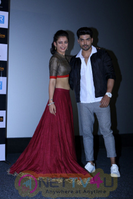 Trailer Launch Of Film Laali Ki Shaadi Mein Laddoo Deewana With Akshara Haasan & Gurmeet Choudhary Stills Hindi Gallery