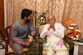 Allu Arjun Meets K Vishwanath Grand Pics