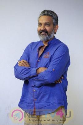 Ss  Rajamouili Interview Stunning Pics Telugu Gallery