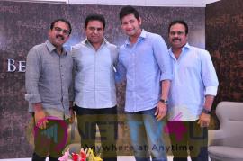 KTR Appreciates Bharat Ane Nenu Team Pics  Telugu Gallery