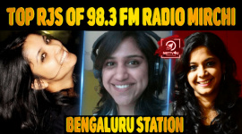 Top RJs Of 98.3 FM Radio Mirchi Bengaluru Station