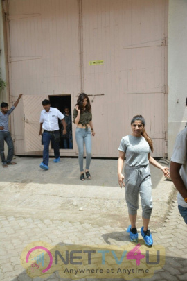 Actress Kriti Sanon Spotted At Mehboob Studio In Bandra Best Images