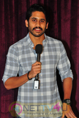 Naga Chaitanya Launches Brand Babu Movie Trailer Pics