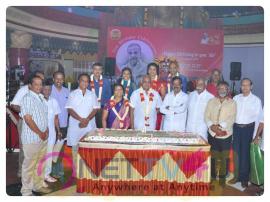 Kalaimamani Abirami Ramanathan Birthday Celebration Pics Tamil Gallery