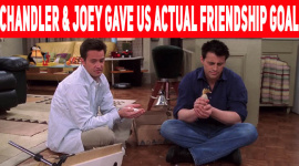 10 Times Chandler & Joey Gave Us Actual Friendship Goals!