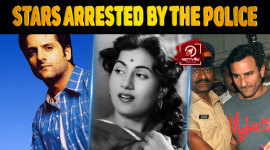 Ten Bollywood Stars Arrested By The Police