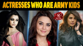 Top 10 Actresses Who Are Army Kids