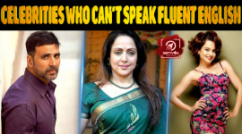 Top 10 Bollywood Celebrities Who Can't Speak Fluent English