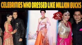 Top 10 Bollywood Celebrities Who Dressed Like Million Bucks On Their Reception