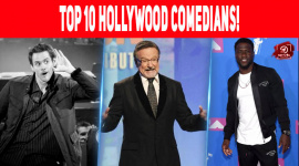 Top 10 Hollywood Comedians!