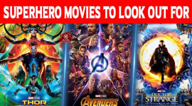 Top 10 Superhero Movies To Look Out For!