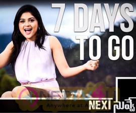 Next Nuvve Movie 7 Days To Go Poster