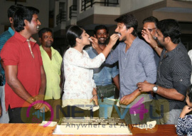 Actor Udhayanidhi Stalin Celebrated His Birthday At The Sets Lyca Productions Gaurav Narayanan Movie Shoot Tamil Gallery