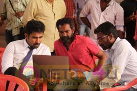 Annadurai Movie Working Images Tamil Gallery