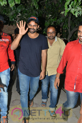 Jawan Movie Team At Chaitanya Mahila College In Miyapur Pics Telugu Gallery