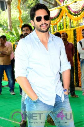 Naga Chaitanya Akkineni New Movie Pooja Stills Telugu Gallery