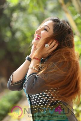 Actress Priyanka Lovely Images At Chinnari Movie Trailer Launch
