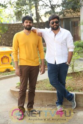 Appatlo Okadundevadu Movie Press Meet Grand Stills Telugu Gallery