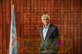 Ashok Amritraj Appointed The United Nations In India Goodwill Ambassador Pics
