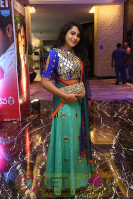 Actress Himaja Images At Shatamanam Bhavathi Success Meet Telugu Gallery