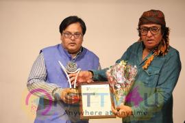 Veteran Actor Ranjeet Felicitated At 3rd International Film Festival Of Prayag Event Photos