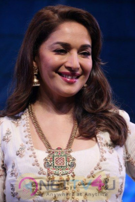 Madhuri Dixit & Sriram Madhav Nene At Ficci Frames 2017-Photo Hindi Gallery