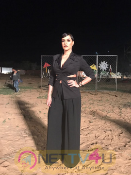 Neha Dhupia On The Sets Of Roadies Style File 2