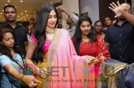 Adah Sharma Launches Saree Niketan Grand pics Telugu Gallery