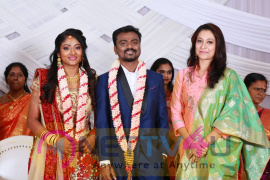 Director Rajkumar Periasamy - Jaswini Wedding Reception