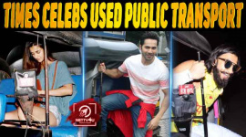 10 Times Celebs Used Public Transport