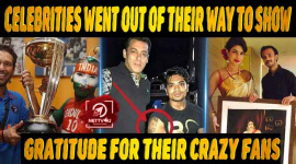 10 Times Indian Celebrities Went Out Of Their Way To Show Their Gratitude For Their Crazy Fans