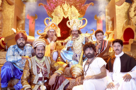 Dharmaprabhu Shooting Spot Marvelous Stills Tamil Gallery