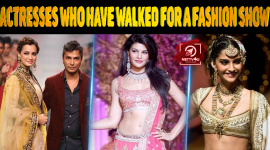 Top 10 Actresses Who Have Walked For A Fashion Show In Bridal Wear