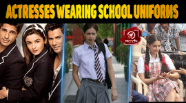 Top 10 Bollywood Actresses Wearing School Uniforms