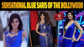 Top 10 Sensational Blue Saris Of The Bollywood