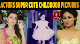 Top 10 TV Actors And Their Super cute Childhood Pictures