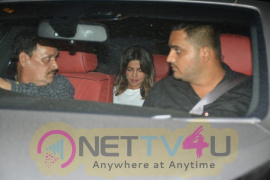 Priyanka Chopra Went To Farhan Akhtar Home Stills