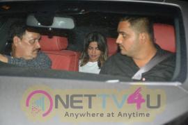 Priyanka Chopra Went To Farhan Akhtar Home Stills