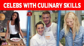 Celebs With Culinary Skills