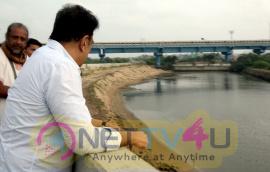 Actor Kamal Haasan Visits Ennore  Photos Tamil Gallery