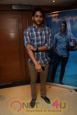 Actor Naga Chaitanya At Sri Harsha Foundation Event Photos Telugu Gallery