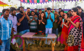 Irumbu Thirai Movie Shooting Wrapped Up Pics Tamil Gallery
