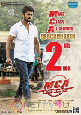 MCA Blockbuster 2nd Week Posters Telugu Gallery