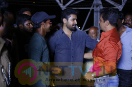 Arjun Completes His Portion In Kolaigaran Movie Celebration Pics