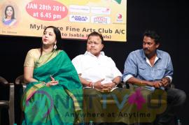 100th Show Of Madhuvanthi Arun's Thillalangadi Moganambal Event Pics