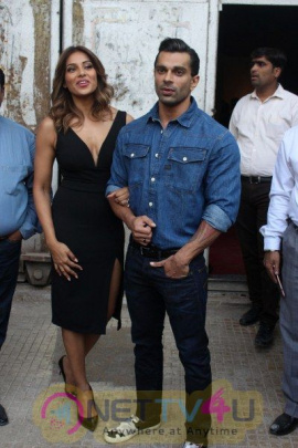 Launch Of Springfit Mattresses Autograph Collection With Bipasha Basu & Karan Singh Grover Photos Hindi Gallery