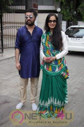 Shraddha Kapoor & Other Celebs At Pandit Pandharinath Kolhapure Marg Hindi Gallery