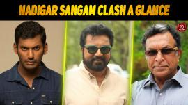 Nadigar Sangam Clash -A Glance